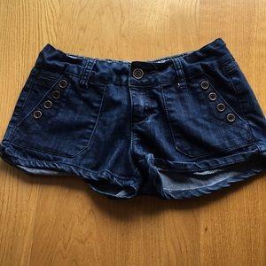 Zanadi jean shorts. Size 7